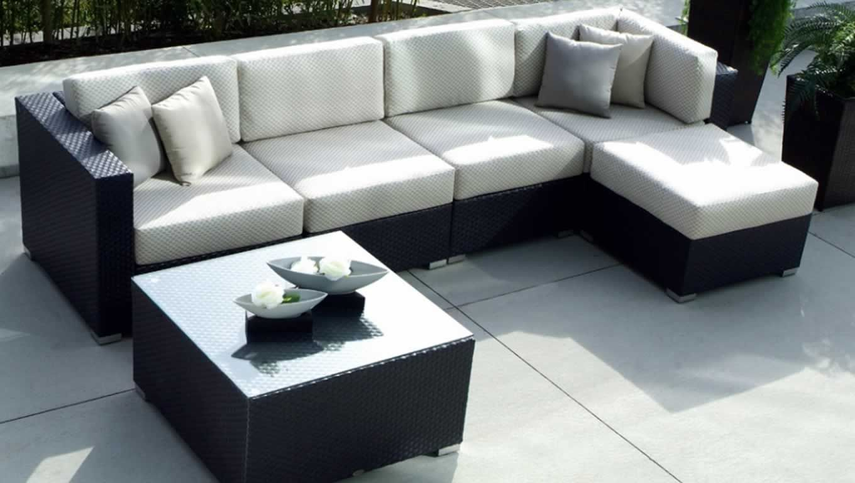 Sala modular ratán sintético para exteriores | Home sweet home ...