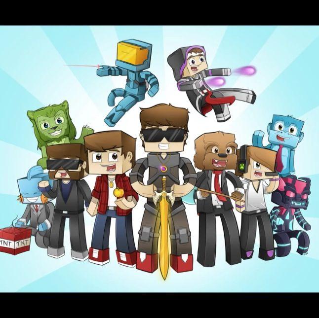 Team Crafted Team Crafted Minecraft Skydoesminecraft Minecraft