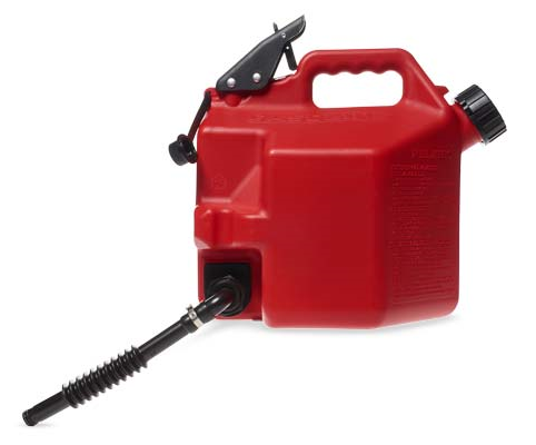 Motorcycle Car No Spill Gas Can Gasoline Container Fuel Canister 5l Jerrycan With Bracket Gas Cans Container Gas