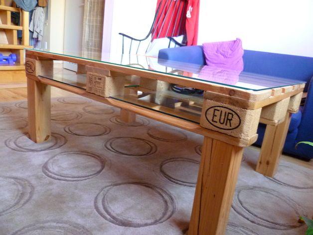 couchtische couchtisch tisch aus europalette palettentisch ein designerst ck von gravton. Black Bedroom Furniture Sets. Home Design Ideas