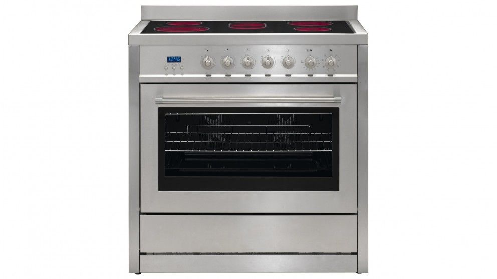 Euromaid Cm Professional Series Freestanding Cooker - Cuisiniere gaz et four electrique 90 cm pour idees de deco de cuisine