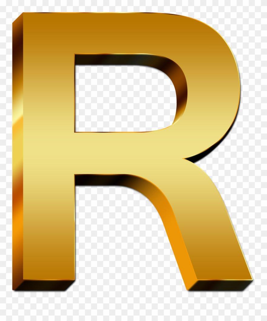 Letter R Png Www Pixshark Com Images Galleries With Letter R Color Gold Clipart Gold Clipart R Colors Clip Art