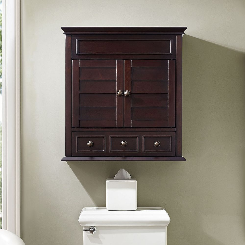 Lydia Wall Cabinet, Brown