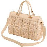 nice Summer New Korean Women Leather Clutch Purse Handbag Tote Lace Shoulder Bag Pink Reviews