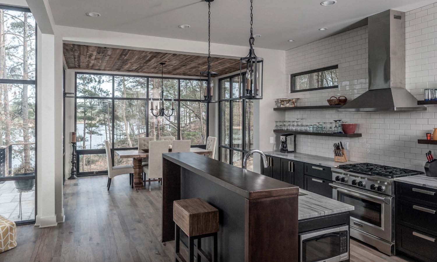 Best Modern Lake House In Alabama Blends Well Into Its 400 x 300