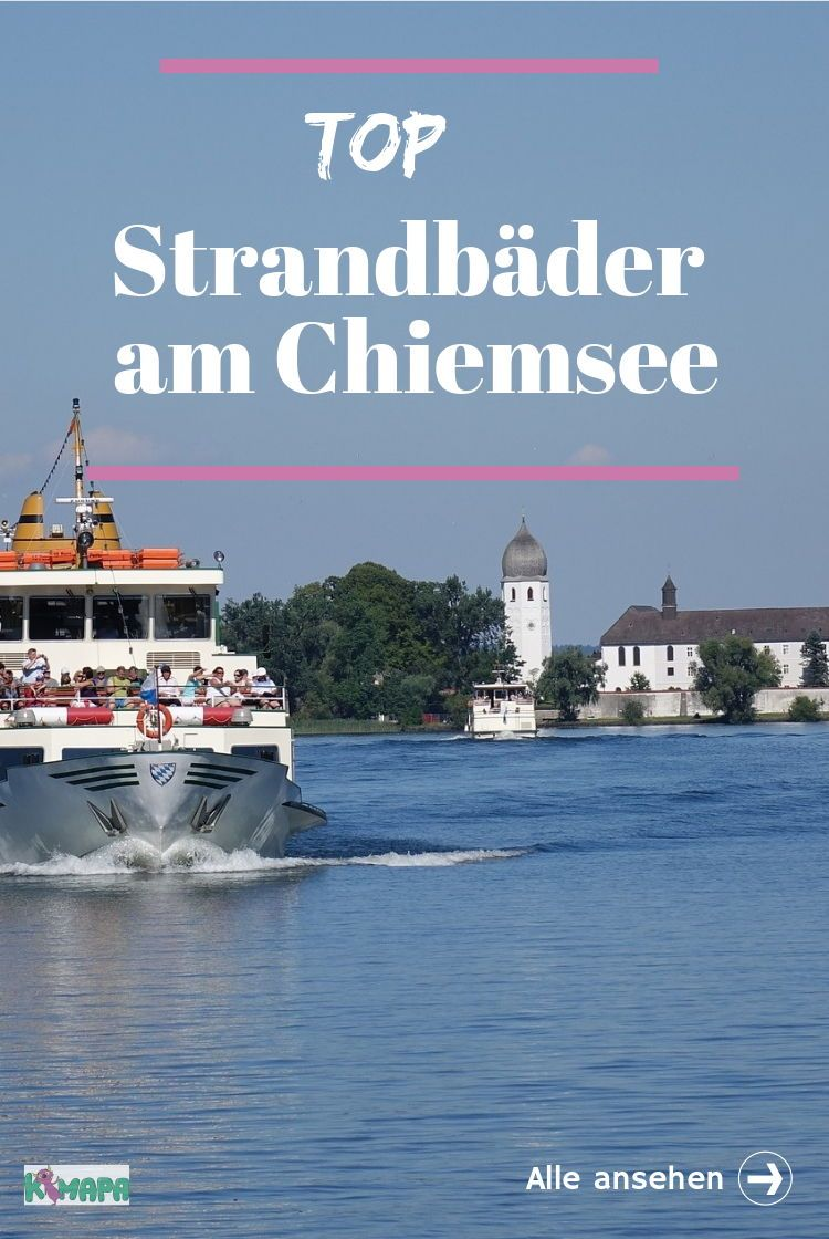 Der Chiemsee Ist Mit 79 9 Km Der Grosste See Bayerns Zahlreiche Strandbader Und Badeplatze Laden Zum Verweilen Ein C Chiemsee Urlaub Strandbad Europa Reisen