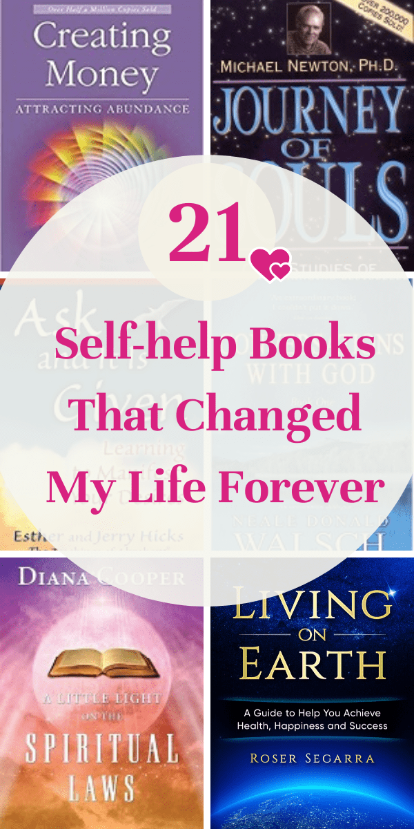 This are my all time self-help books that changed my live forever. They helped me heal from my emotional issues and achieve the lifestyle and career I wanted. Inspirational books, life-changing books, personal development, recommended reading in 2020, motivational, self-help, in your thirties or any age. Top books. #books #goodbooks #spiritualbooks #motivation #lifechangingbooks #selfhelpbooks #Recommendedbooks #topbooks #newagebooks #newagespirituality