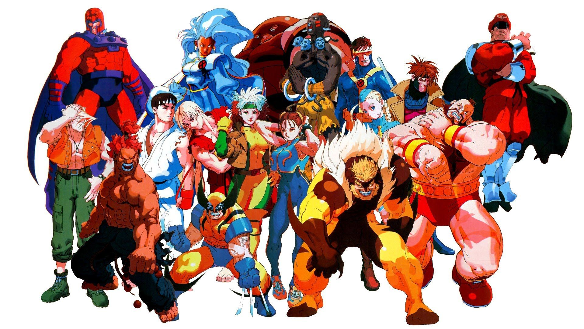 X Men Vs Street Fighter Capcom Street Fighter Comics Street Fighter Street Fighter Wallpaper