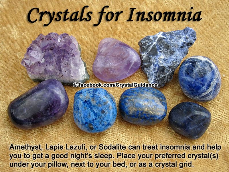 Crystal Guidance: Crystal Tips and Prescriptions - Insomnia