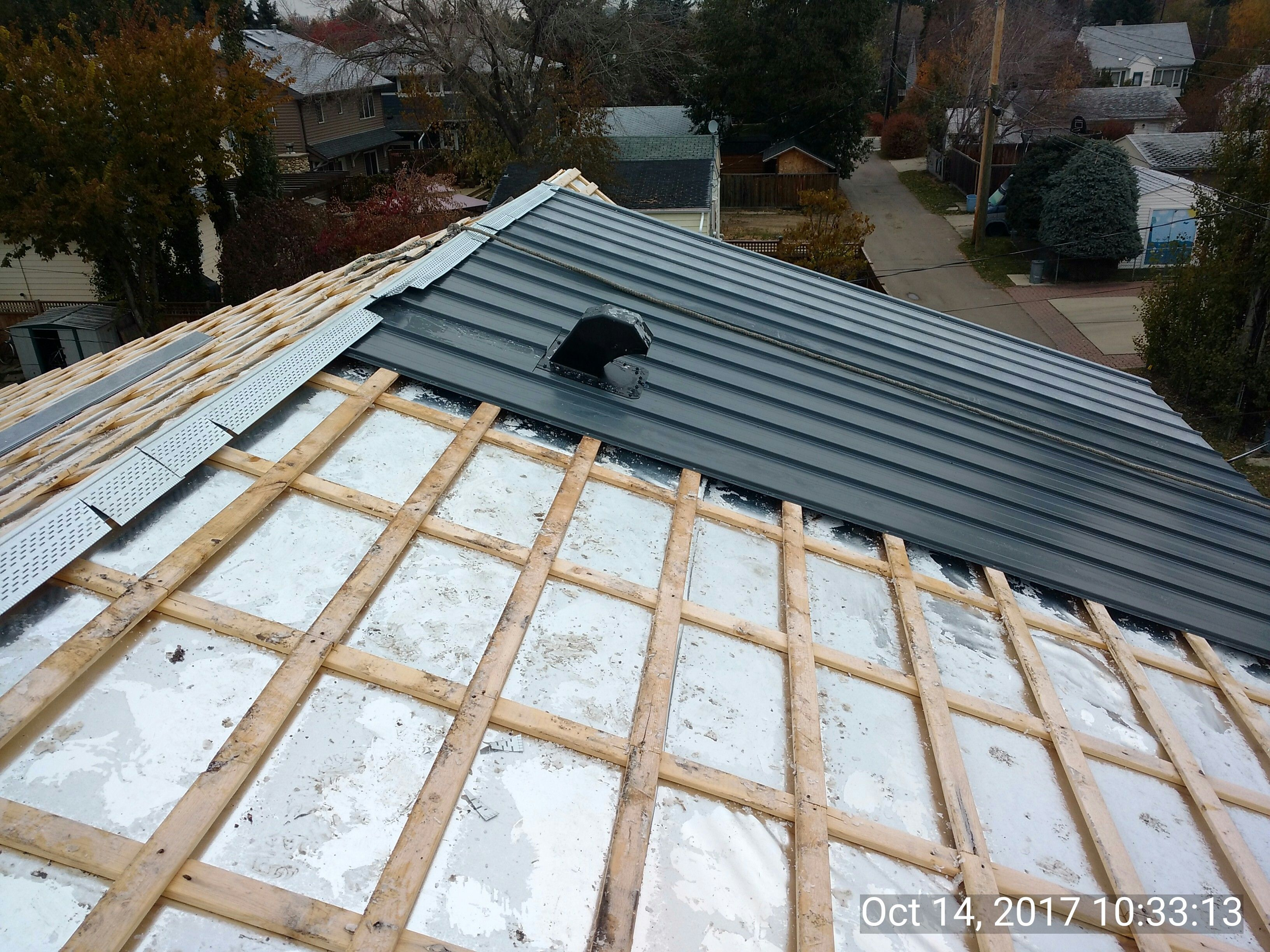Our Unique Vented Deck Roofing System With Heat Reflective Underlayment Standing Seam Standing Seam Roof Roof Repair