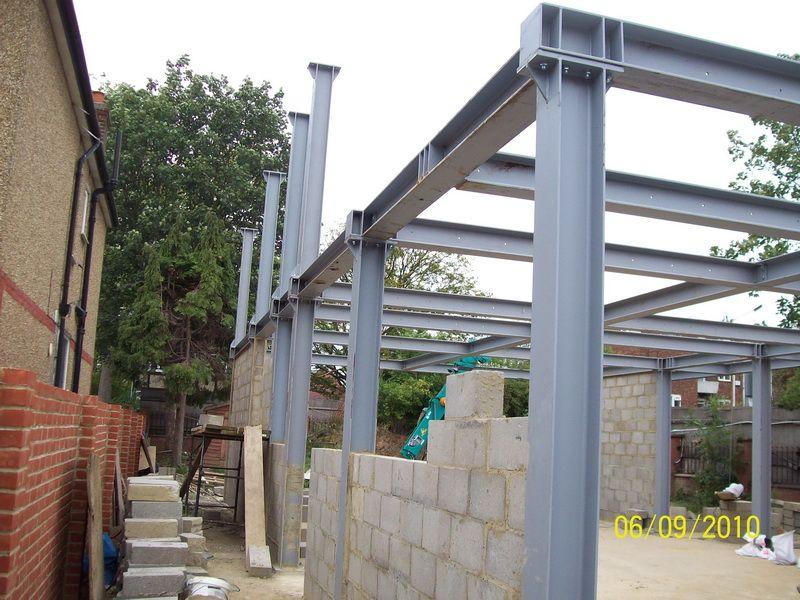 Structural Steel House Frames Google Search Construcoes Metalicas Casas Com Estrutura De Aco Construcao De Casas