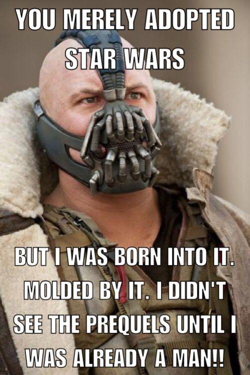 Bane Star Wars Meme | Miscellaneous | Funny memes, Star ...