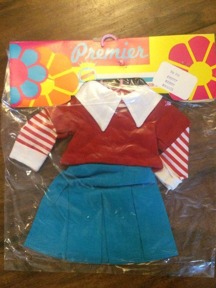 "Tressy Brandi 70s Vtg Doll Clothing Pattern ~ 17.5/"" Beautiful Crissy Kerry"