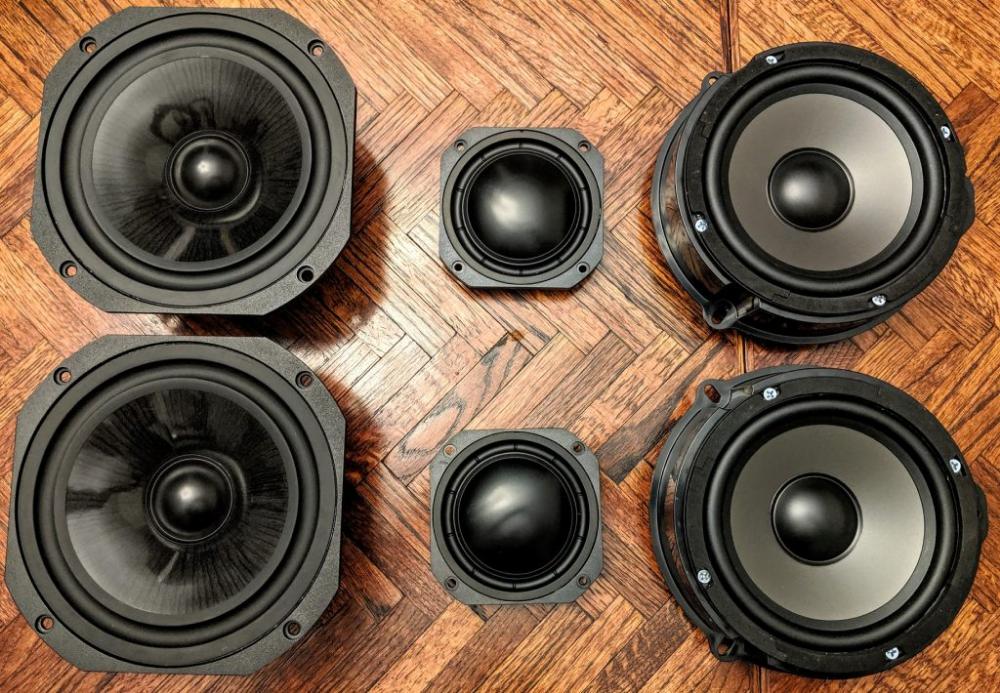 Audi B9 A4 S4 B O Door Speakers Parts Express Project Gallery Speaker Surround Speakers Car Audio