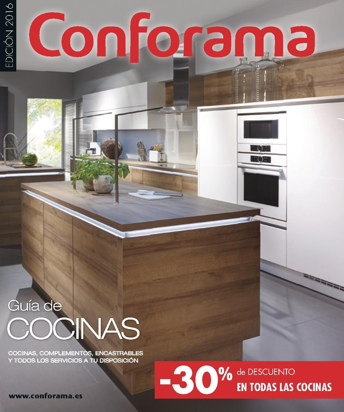 Gu a conforama cocinas 04 2016 1 cocina pinterest for Catalogo cocinas 2016