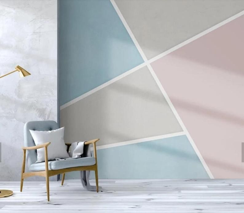 3d Minimalist Single Color Abstract Color Block Wallpaper Removable Self Adhesive Wallpaper Wall Mural Vintage Art Peel And Stick Bedroom Wall Designs Bedroom Wall Paint Wall Paint Designs