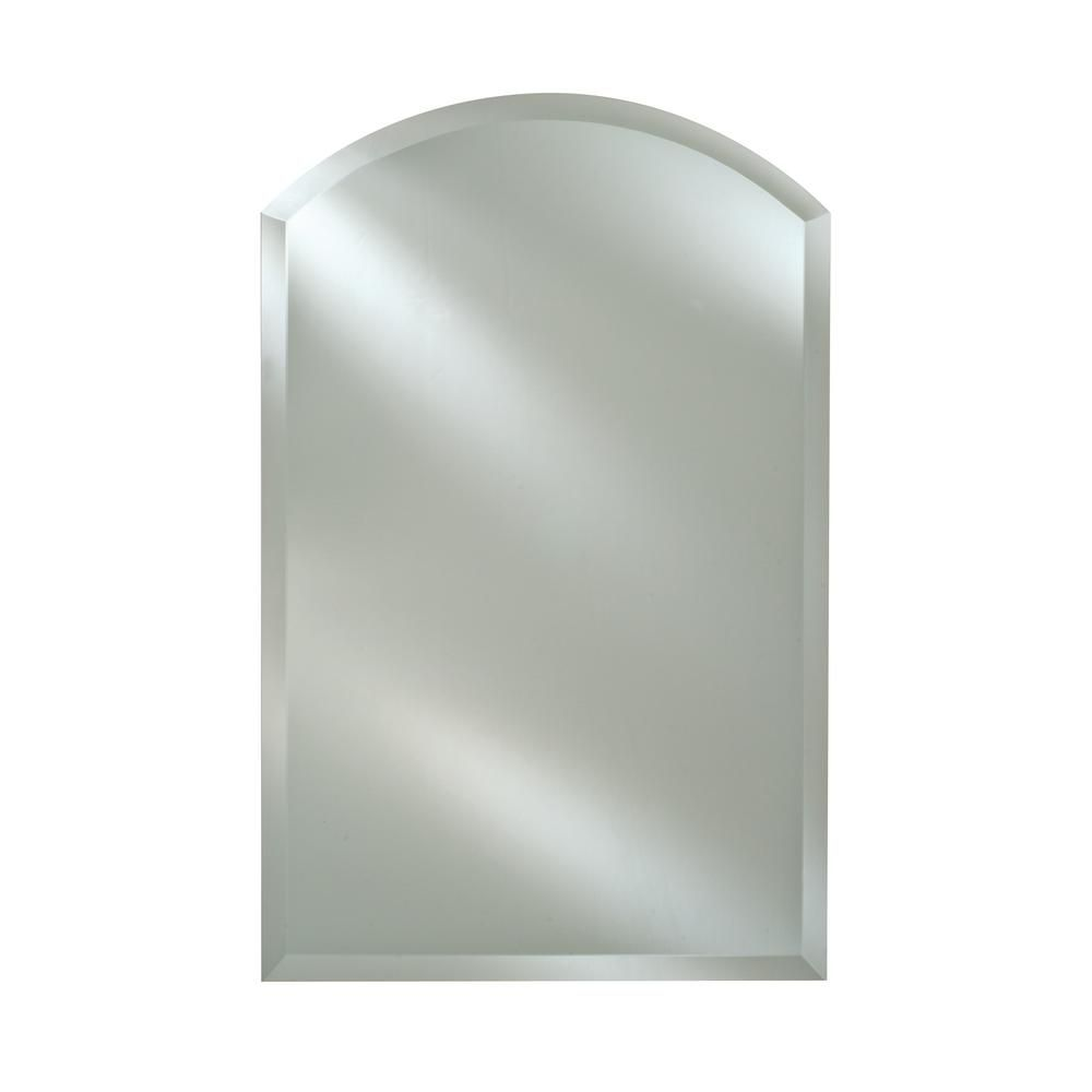 Afina radiance 20 in x 30 in x 1 in arch top frameless