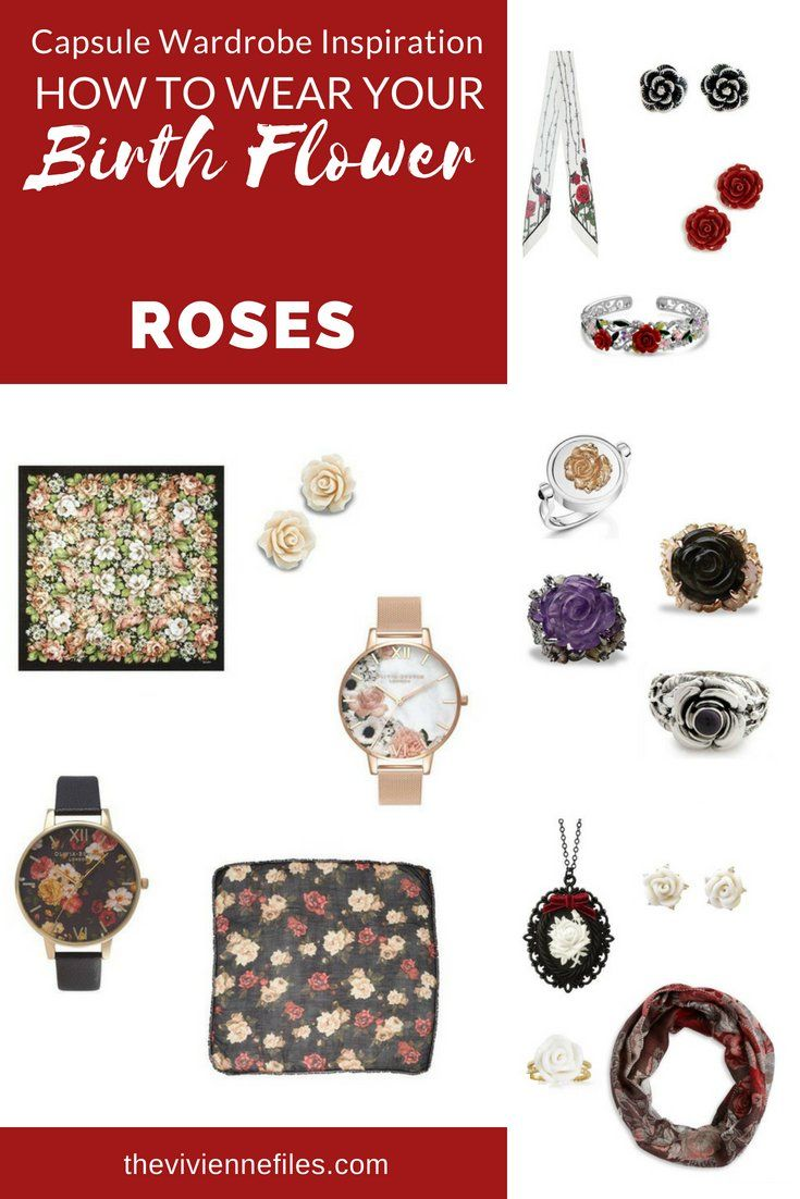 Roses! The Birth Flower for June | Birth flowers, Capsule wardrobe ...