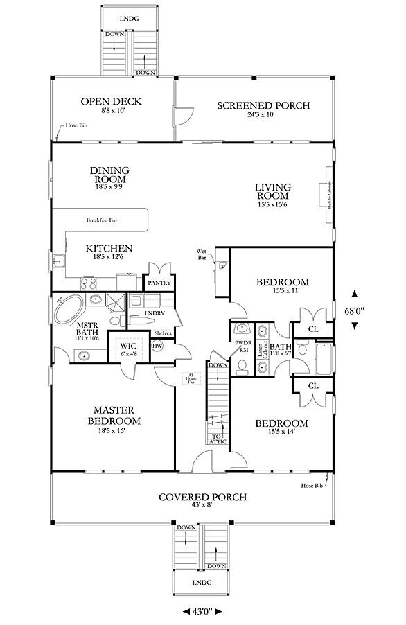 Aballette Cove Coastal House Plans From Coastal Home Plans Coastal House Plans Beach House Plans House Plans
