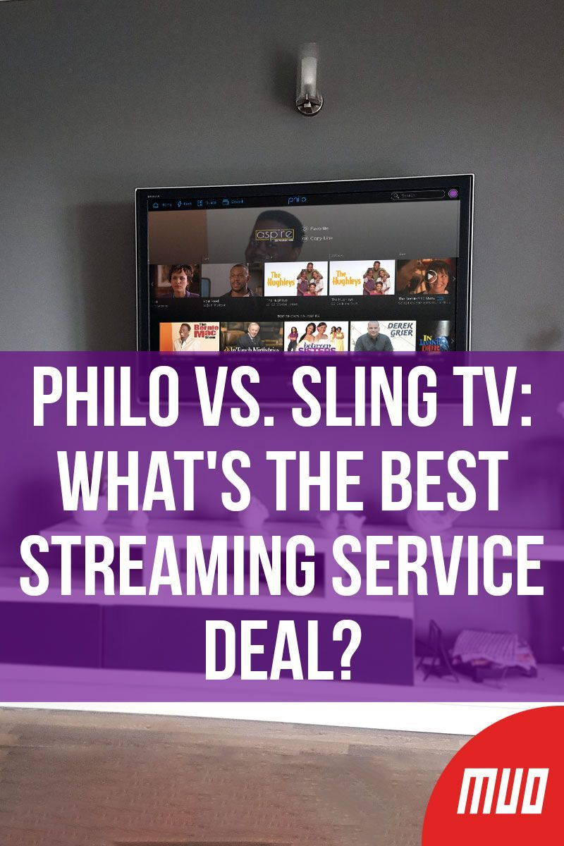 Philo vs. Sling TV What's the Best Streaming Service Deal