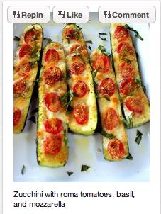 Abobrinha e tomate