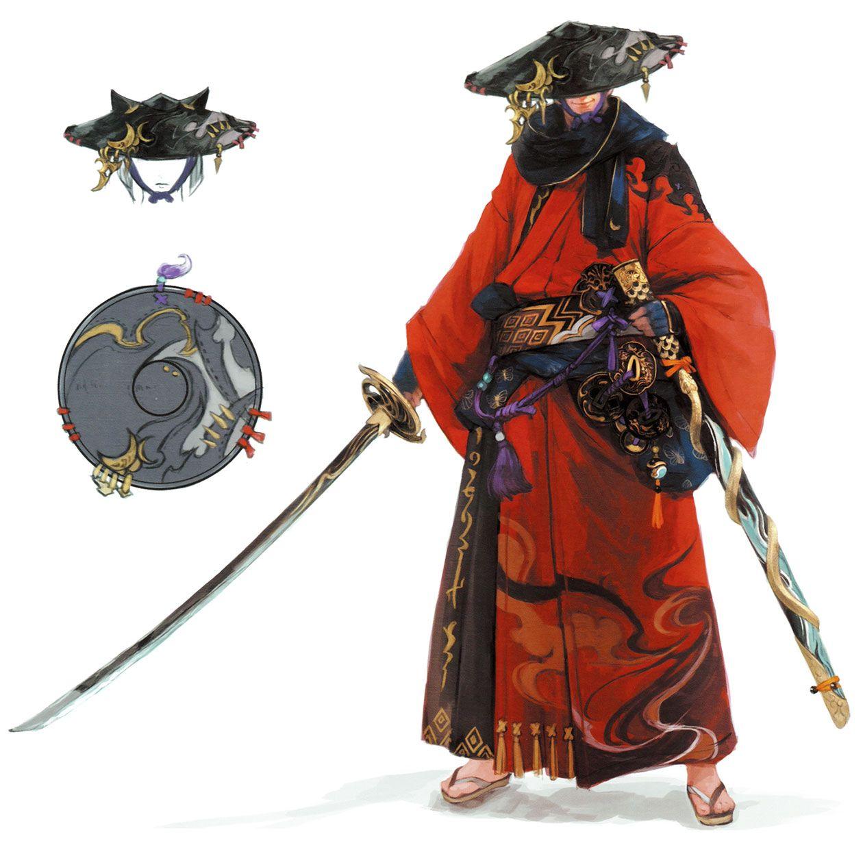 Samurai Amp Myochin Armor From Final Fantasy XIV Stormblood