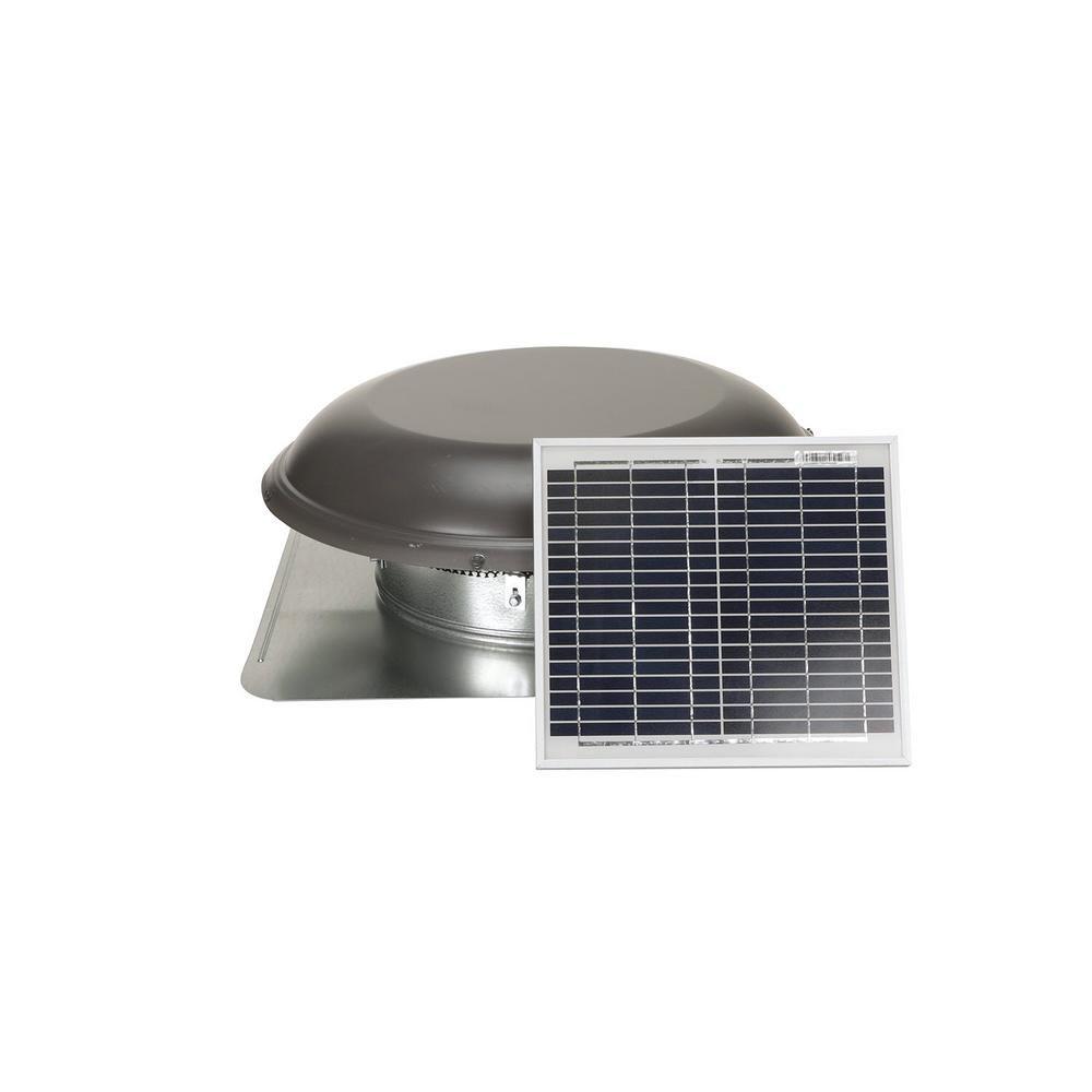 Air Vent 800 Cfm 10 Watt Solar Powered Exhaust Roof Mount Attic