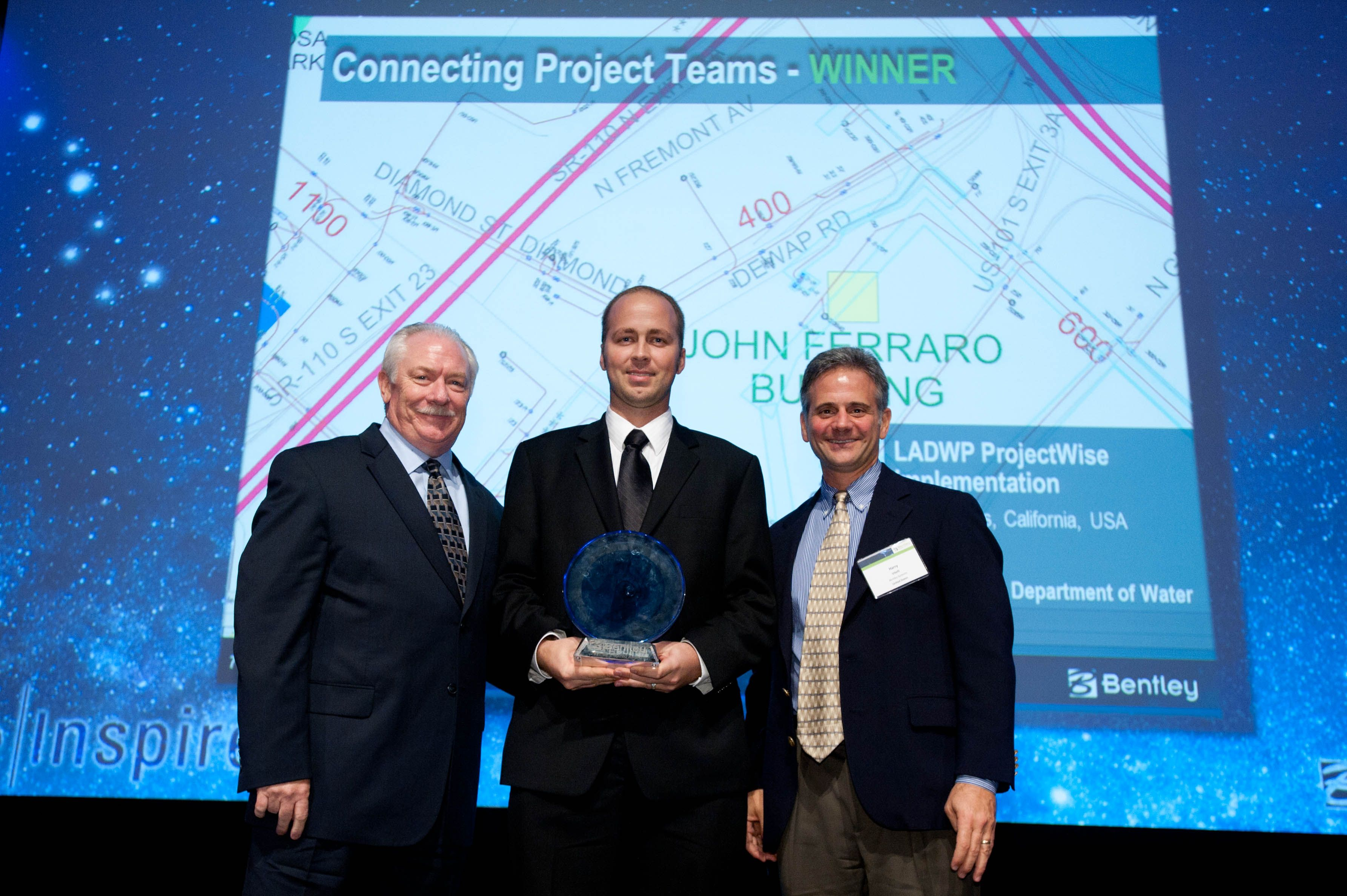 "We're traveling back to 2011 to highlight LADWP, our Be Inspired Winner for ""Connecting Project Teams"". Check them out in out #tbt blog today!"
