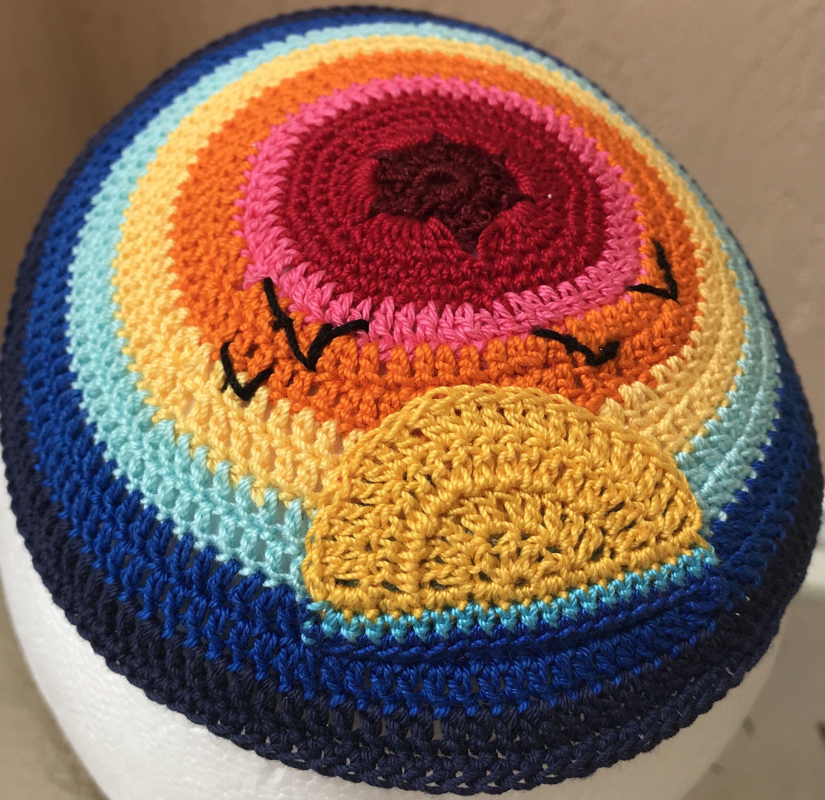 Cubs kippah, Cubs yarmulke | Kippah and yarmulkes | Pinterest