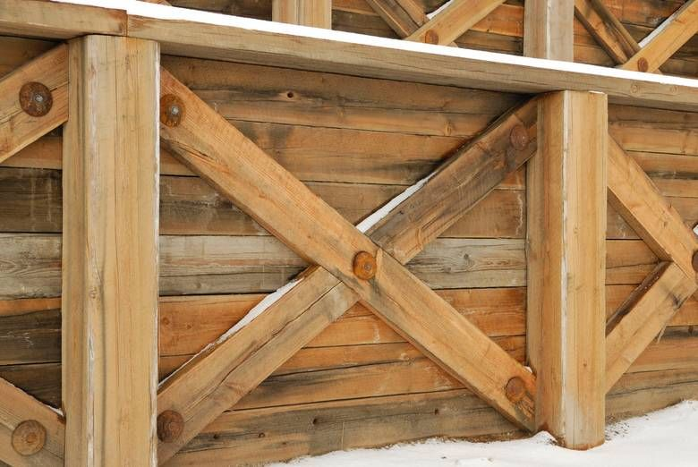 Twii timber retaining walls back yard ideas pinterest for Twii