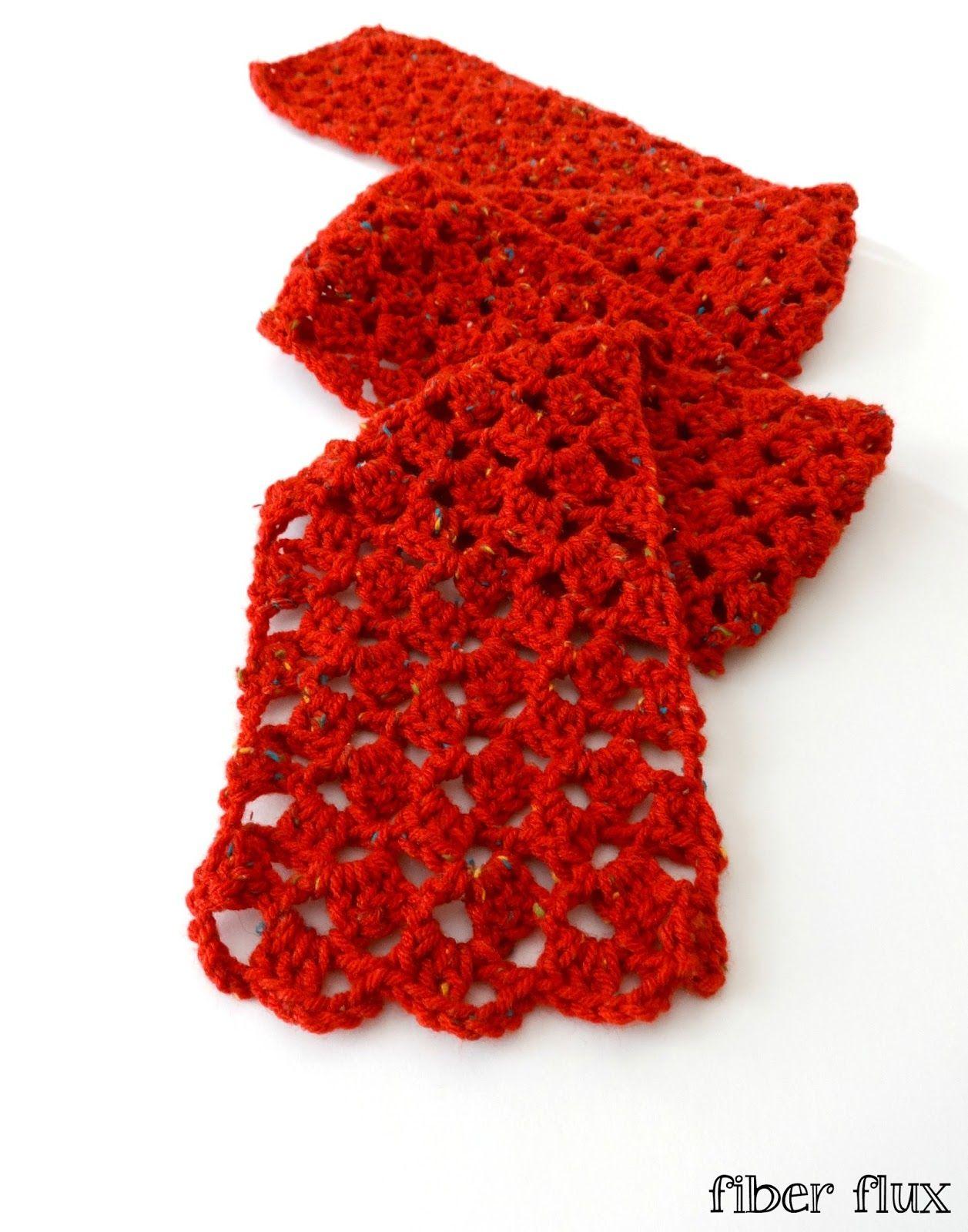 patrón de bufanda de ganchillo | crochet | Pinterest | Patrones de ...
