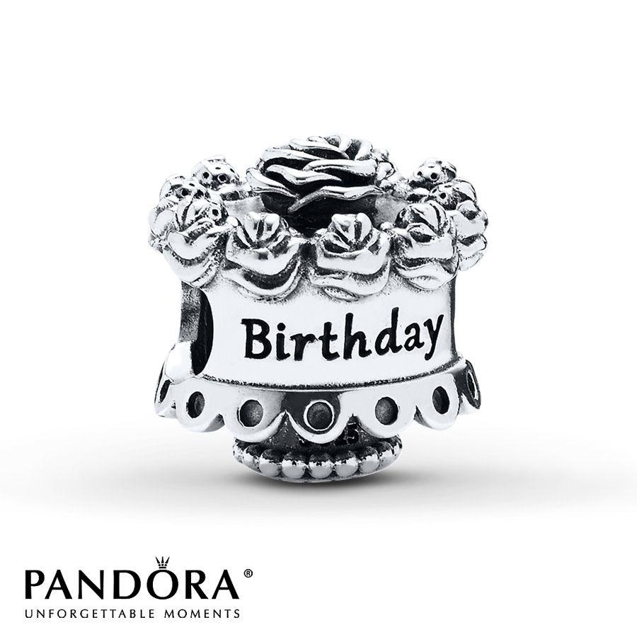 Pandora Charm Happy Birthday Sterling Silver Jewelry Pinterest