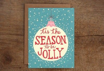 Tis the Season to be Jolly Card