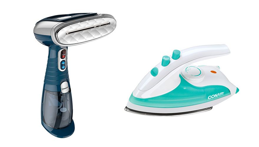 The Steamer Vs The Iron In A Head To Competition Width Clothes Steamer How To Iron Clothes Fabric Steamer