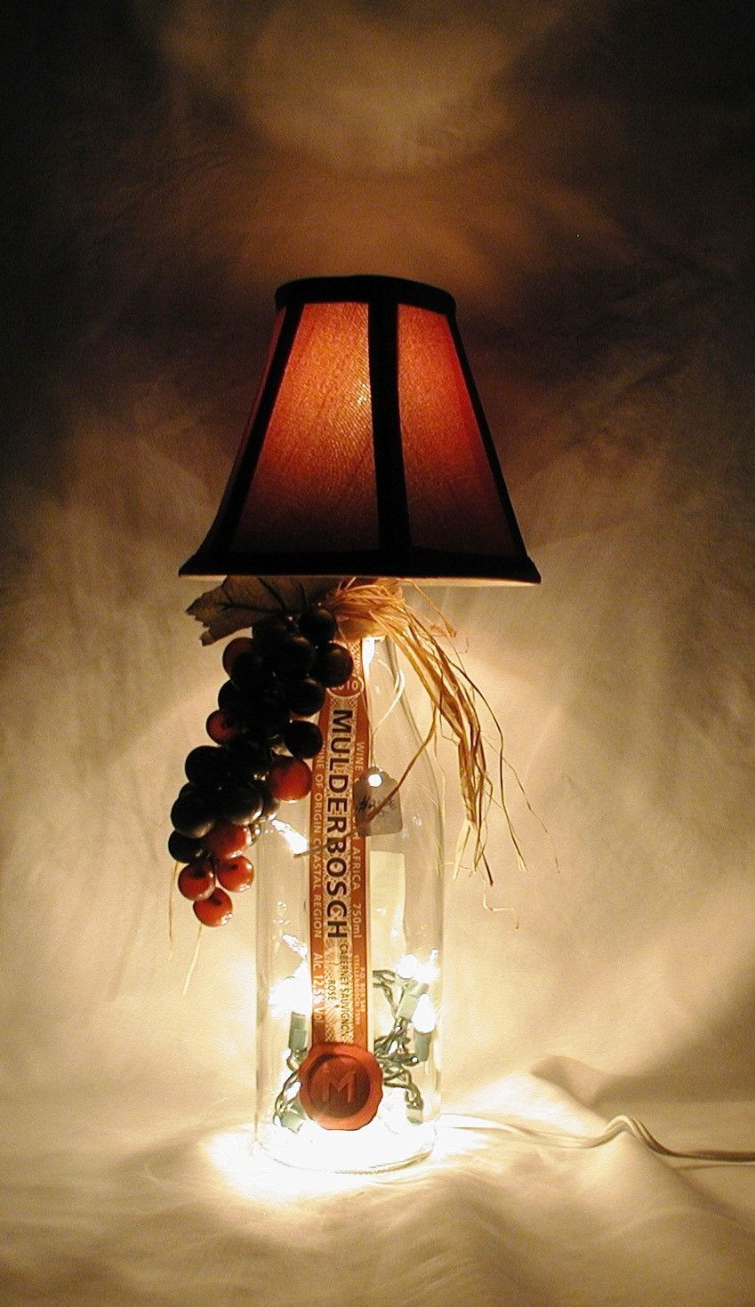 Beautiful Hand Made Tuscan Style Wine Bottle Table Lamp Priced Save Even More With Combined Shipping