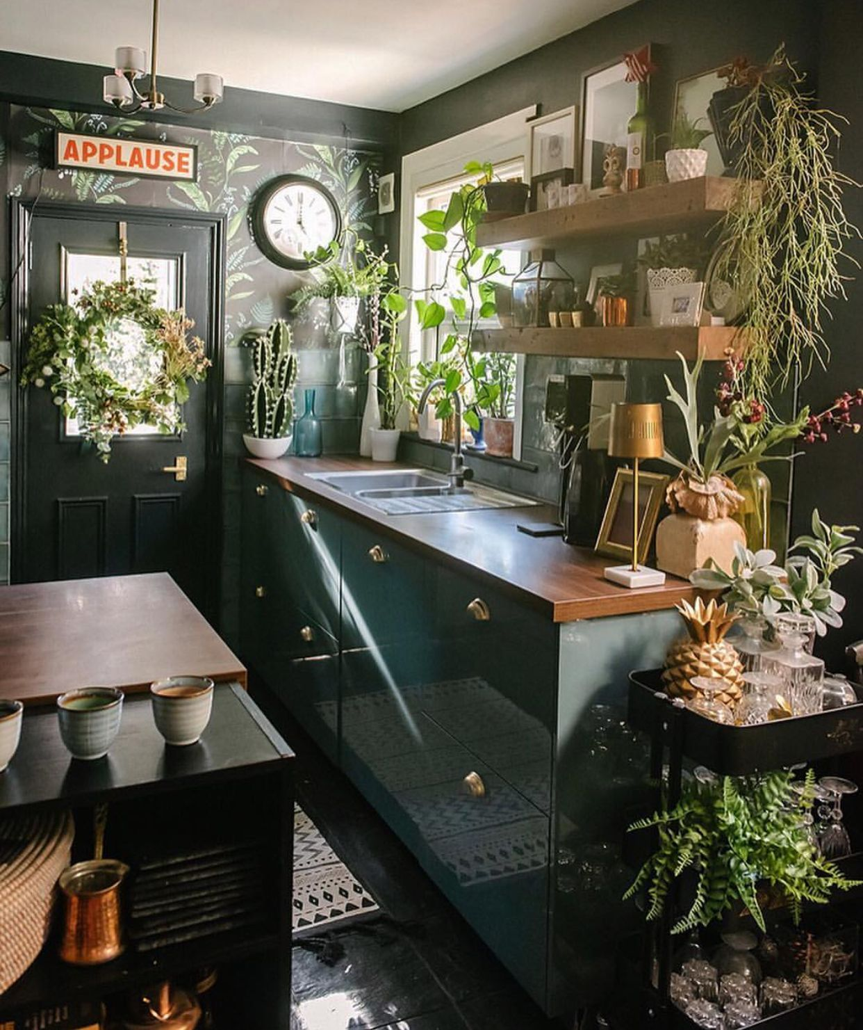 pin by julie hanks on tiny house dreaming bohemian kitchen fall interior decor trending decor on boho chic kitchen table decor id=98827