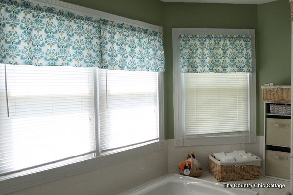 how to make a simple straight valance
