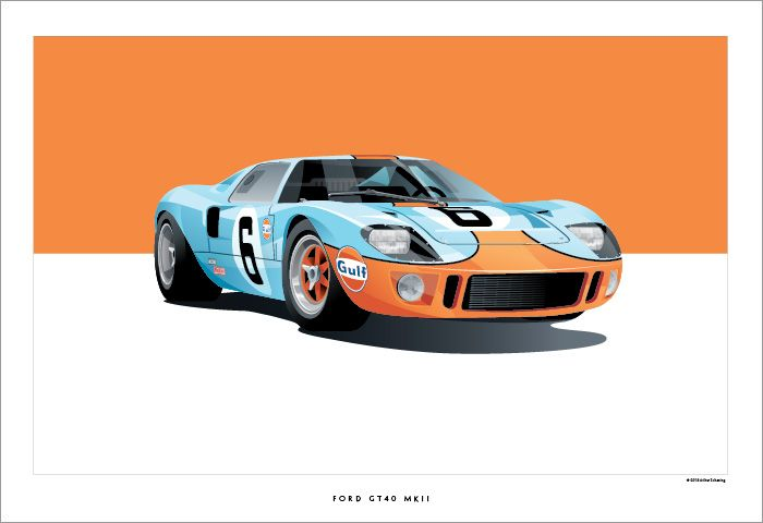 Ford Gt By Arthur Schening