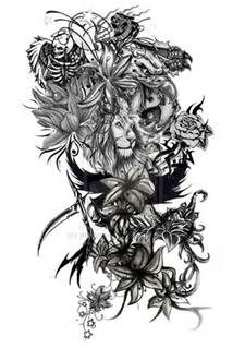 Half Sleeve Tattoo Drawings for women , Bing Images