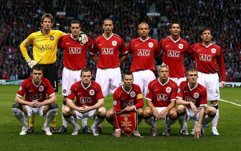 1f9e85a9e 2006/07 Manchester United Squad   Red Devils!   Manchester united ...
