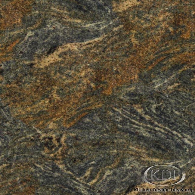 Touareg Gold Granite  (Kitchen-Design-Ideas.org)