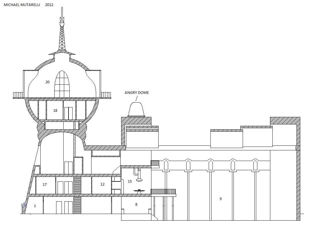 Futurama: Planet Express Floor Plan   Page 3