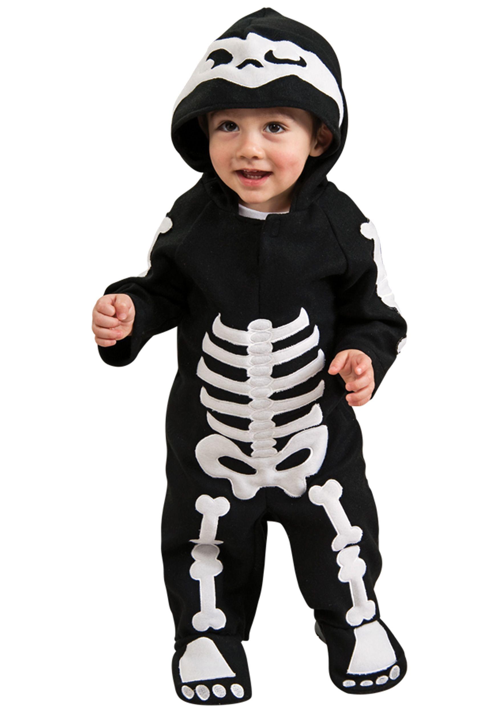 infant toddler skeleton costume