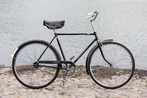 Vintage English Dunelt 3 Speed Road Bicycle Excellent Condition Bicycle Road Bicycle Old Bicycle