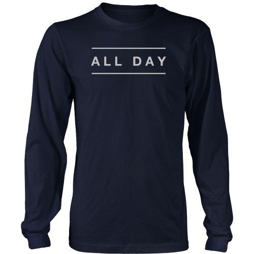 All Day - Mens Long Sleeve Tee Shirt