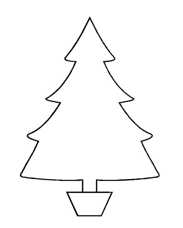 Christmas Tree Templates In All Shapes And Sizes Free