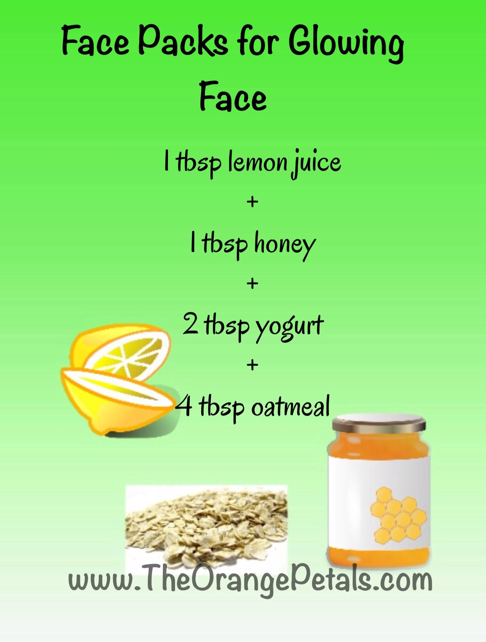 Face Packs for glowing Face - Page 112 of 112 - theorangepetals