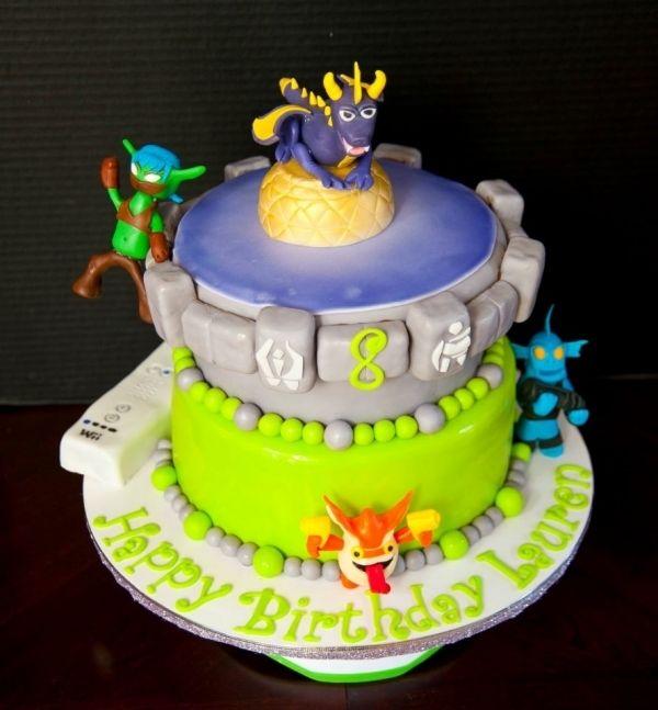Skylander Birthday Cake What an amazing cake Mr O will be 8 as