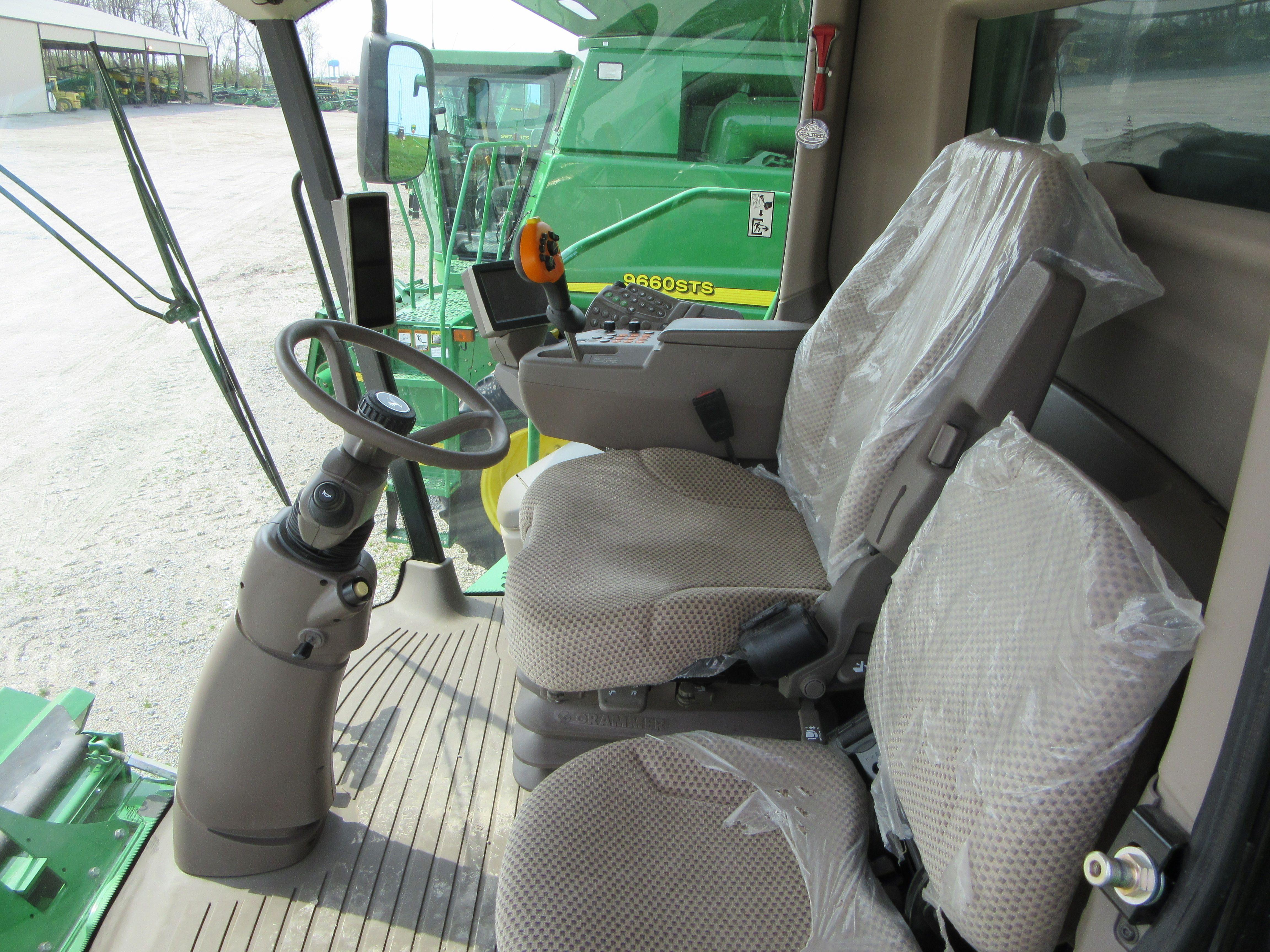 Inside Of A Combine : Inside john deere s cab equipment