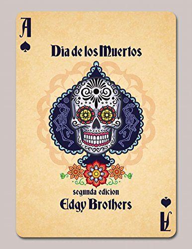 Amazon.com: Dia De Los Muertos Original Playing Cards Deck New: Sports & Outdoors
